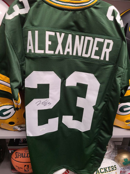 Jaire Alexander Packers Signed Autographed Custom Jersey JSA XL