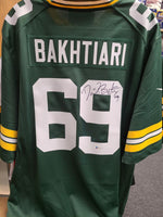 David Bakhtiari Packers Signed Autographed NIKE GAME Licensed Jersey BECKETT