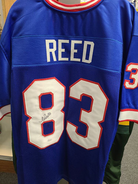 Andre Reed Buffalo Bills Signed Autographed Blue Custom Jersey JSA