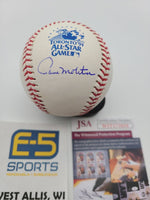 Paul Molitor Brewers Blue Jays Signed Autographed 1991 All Star Baseball JSA