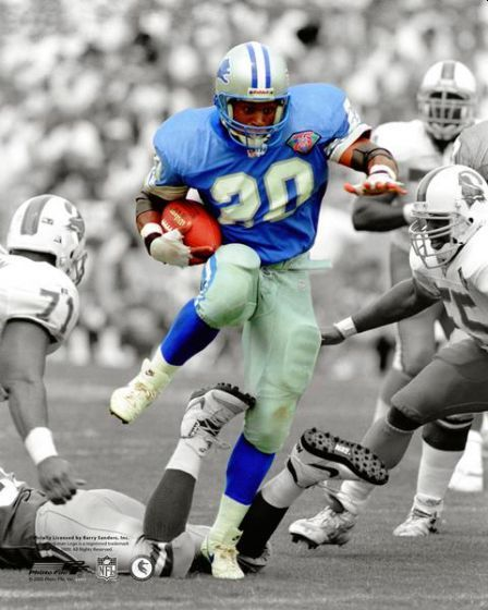 Barry Sanders Private Signing June 23rd 2020