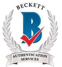 Beckett Authentication Day 2-3-21
