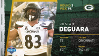 Josiah Deguara Private Signing Sep 22nd 2020