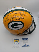 Gilbert Brown Green Bay Packers Signed Autographed Authentic Helmet BECKETT