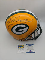 Santana Dotson Green Bay Packers Signed Autographed Authentic Helmet BECKETT