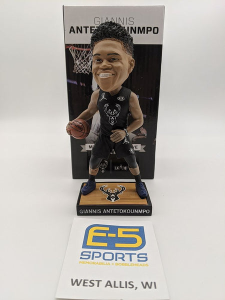 Giannis Antetokounmpo Bucks SSH Bobblehead w Original Box and Packaging