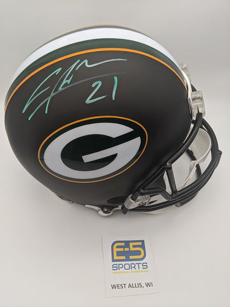 Charles Woodson Green Bay Packers Signed Autographed Matte Black Authentic Helmet