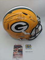 Donald Driver Green Bay Packers Signed Autographed Authentic Speed Helmet JSA