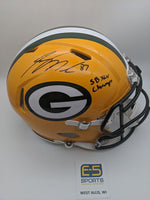 Jordy Nelson Green Bay Packers Signed Autographed Authentic Speed Helmet