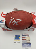 Jonathan Taylor Badgers Signed Autographed Official NFL Duke Football JSA