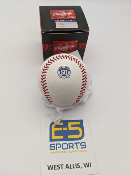 Milwaukee Brewers 50th Anniversary Unsigned Official Major League Baseball