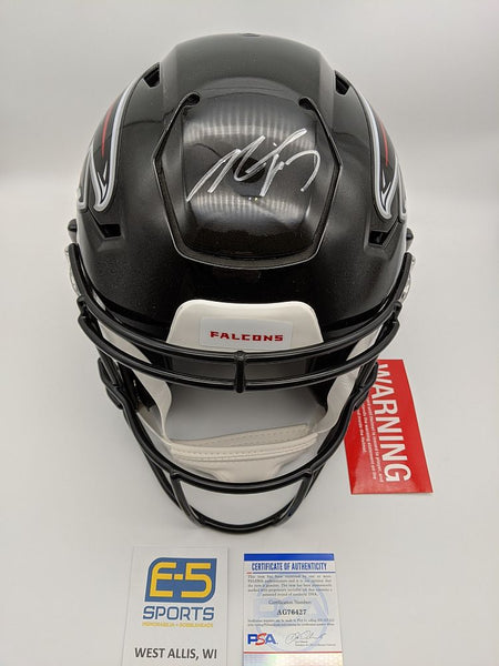 Michael Vick Falcons Signed Autographed Full Size Authentic Speedflex Helmet