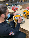 David Bakhtiari Packers Signed Autographed Full Size Authentic Speedflex Helmet