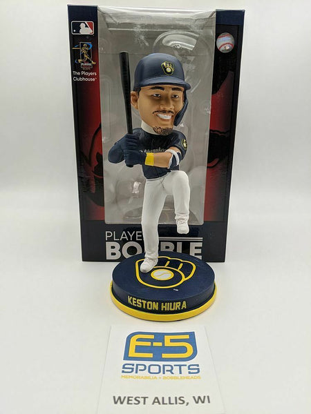 Keston Hiura Brewers Bobblehead w Original Box and Packaging LE OF 216