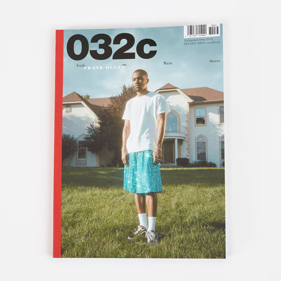 032c 032c - Issue 33 - Blue