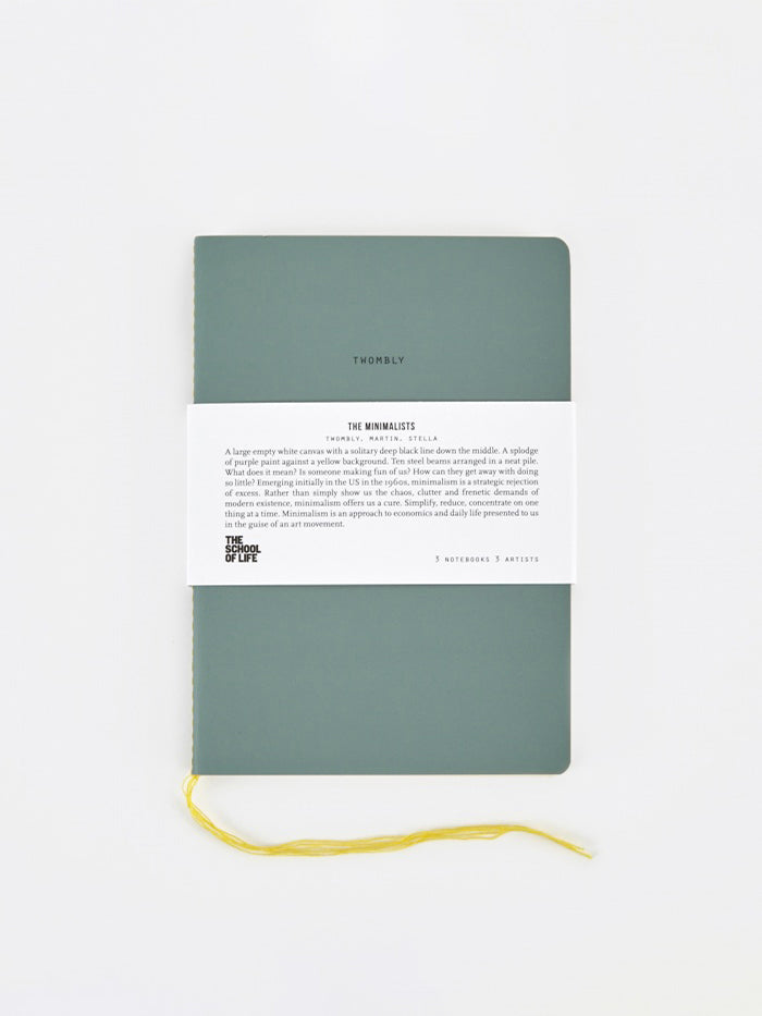 The School of Life The School of Life School of Thought Notebooks - The Minimalists