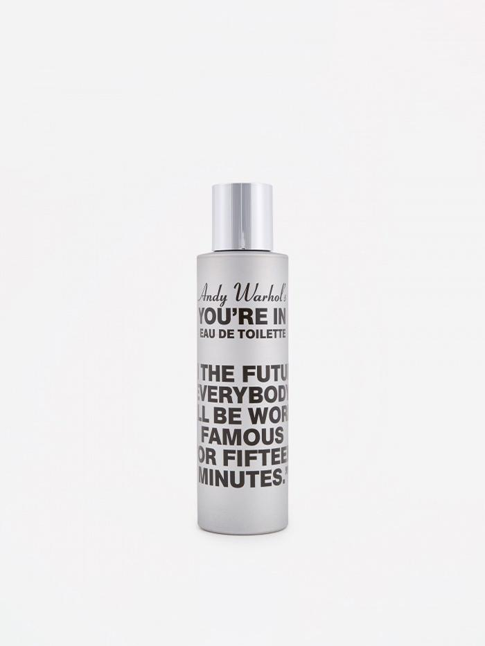Comme des Garcons Parfums CDG x Andy Warhol You're In In the Future Eau de Toilette - 100ml - Silver