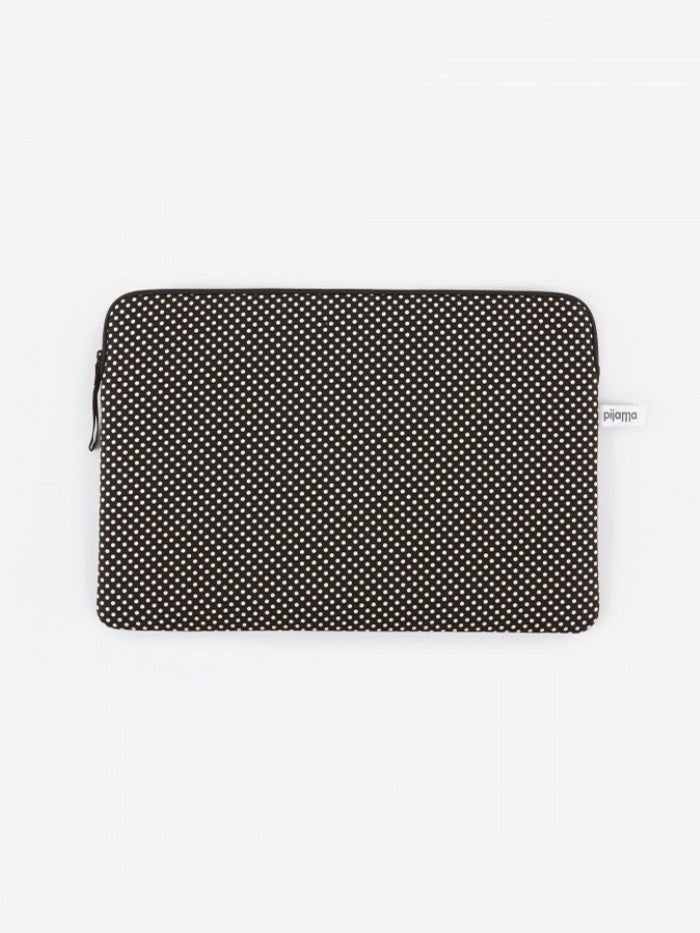 Pijama Pijama Zip Case for MacBook Air / 13 Laptop - Dotty Small Black - Other