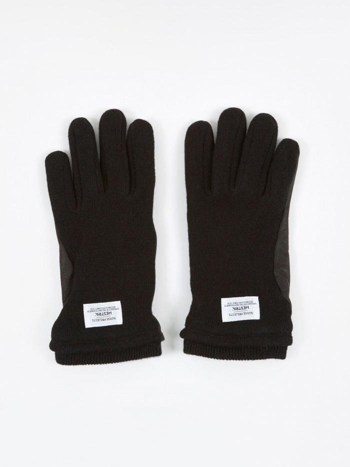 Norse Projects Norse Projects x Hestra Svante Gloves - Black - Black