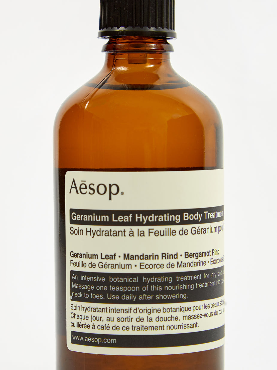 Aesop Aesop Geranium Leaf Hydrating Body Treatment - 100ml - Other