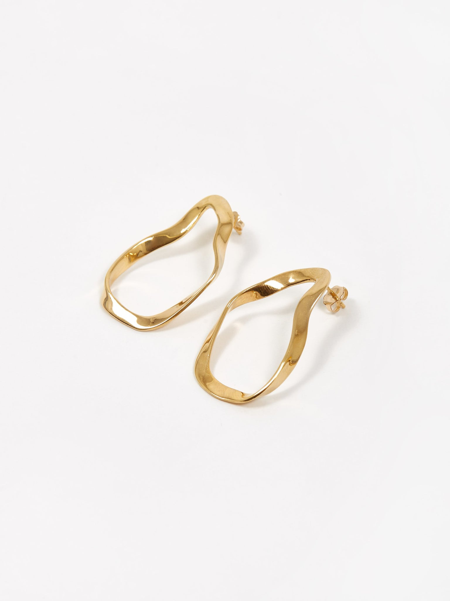 AGMES Small Vera Earrings - Gold