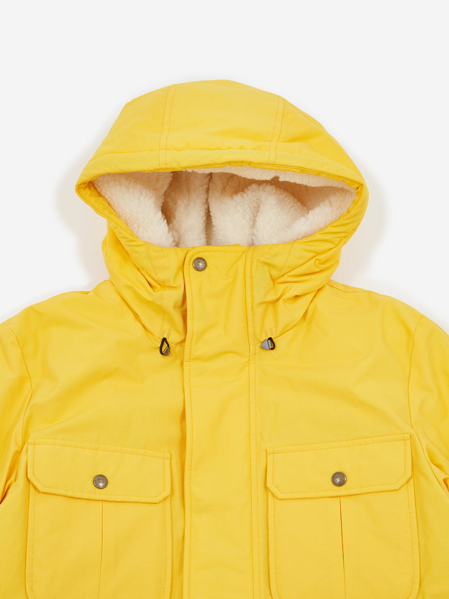 Aime Leon Dore Aime Leon Dore Woolrich Mountain Jacket - Sunflower Yellow - Yellow