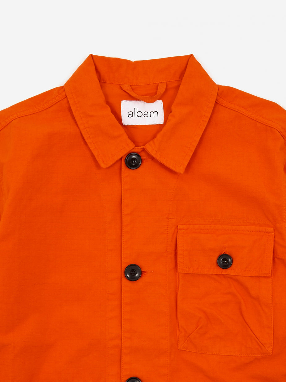 Albam Albam GD Ripstop Rail Jacket - Red - Red