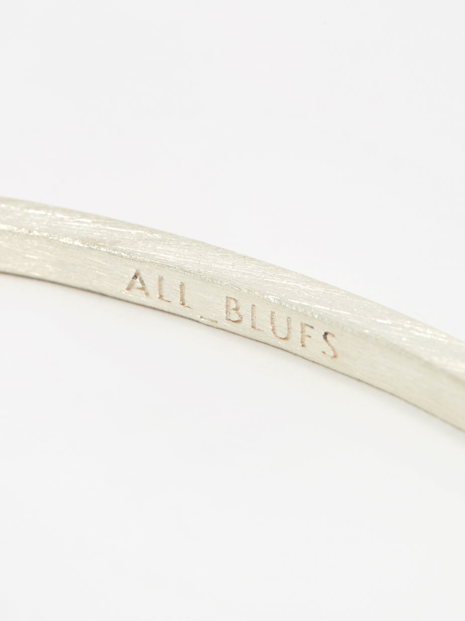 All Blues All Blues Square Bracelet - Silver - Silver