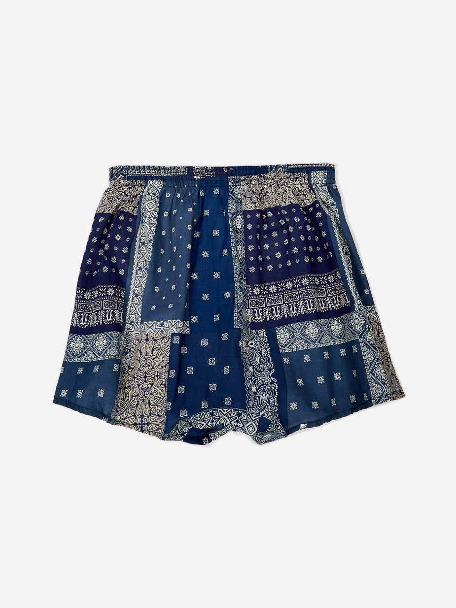 Anonymous Ism Anonymous Ism Boxer - Bandana Navy Mix - Blue