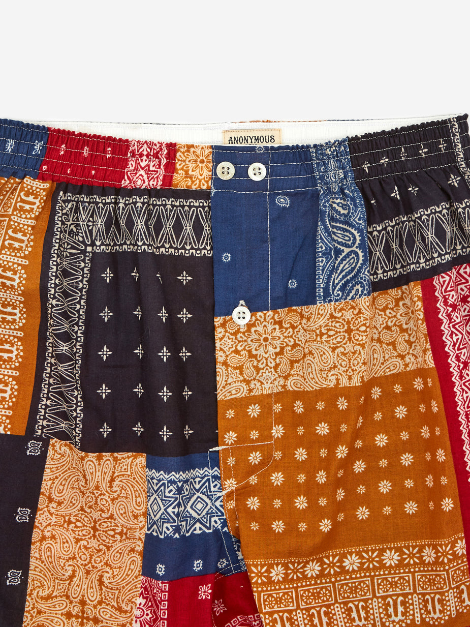 Anonymous Ism Anonymous Ism Boxer - Bandana Colour Mix - Multi