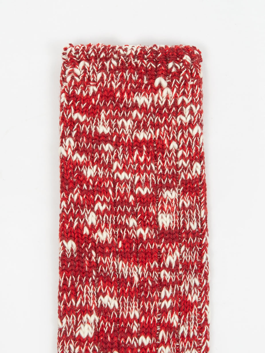 Anonymous Ism Anonymous Ism Slub Crew Socks - Red - Red