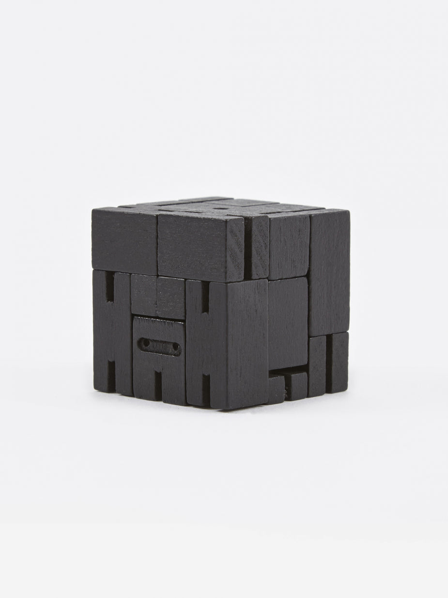 Areaware Areaware Micro Cubebot - Black - Other
