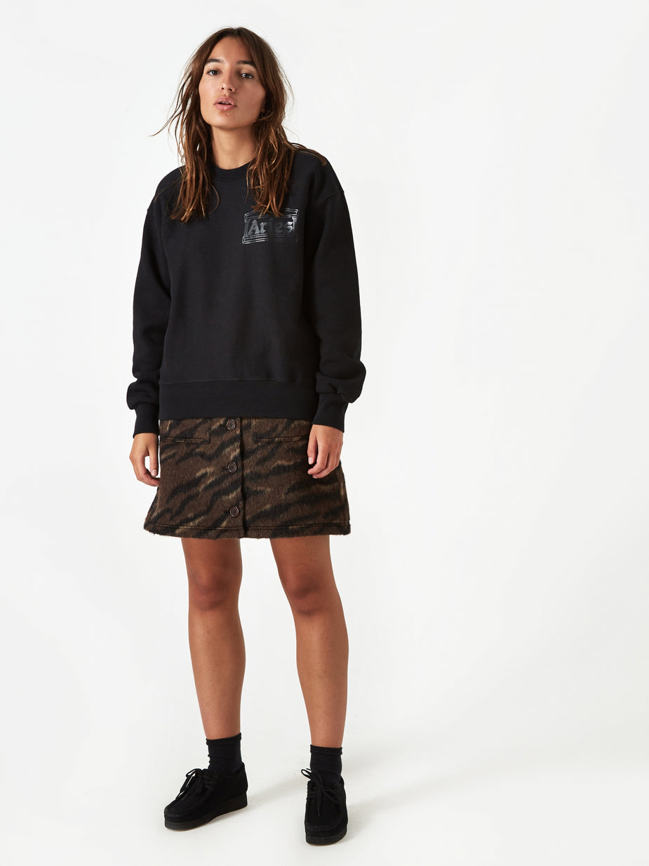 Aries Aries Classic Temple Sweatshirt - Black - Black