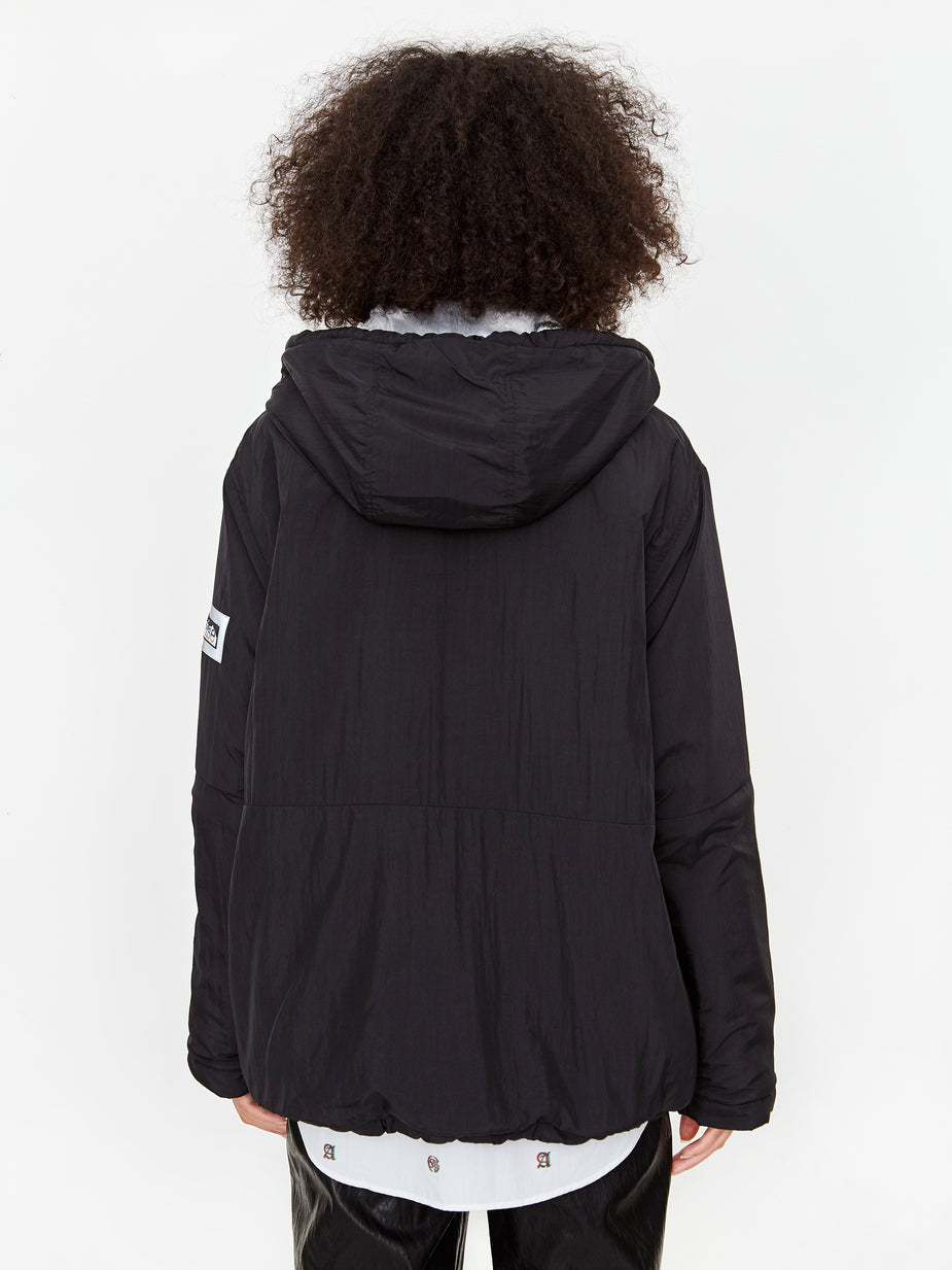 Aries Aries Fleece Parka - Multi/Black - Multi/Black - Multi