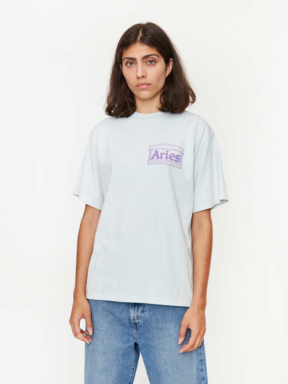 Aries Aries Hands Off Shortsleeve T-Shirt - White - White