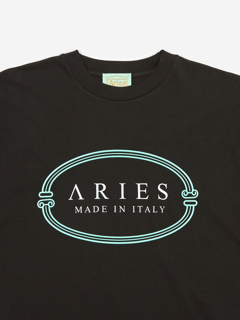 Aries Aries MIIT Shortsleeve T-Shirt - Black - Black