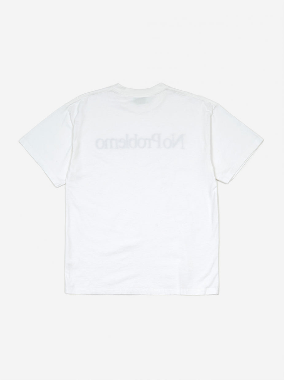 Aries Aries No Problemo Shortsleeve T-Shirt - White - White