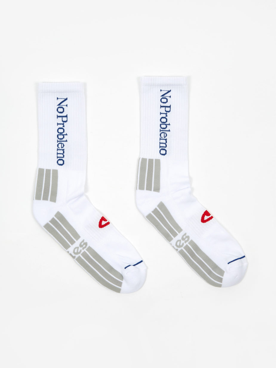 Aries Aries No Problemo Socks - White - White