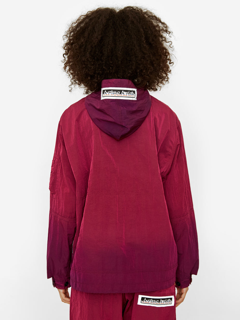 Aries Aries Ombre Dyed Tech Jacket - Fuschia - Pink