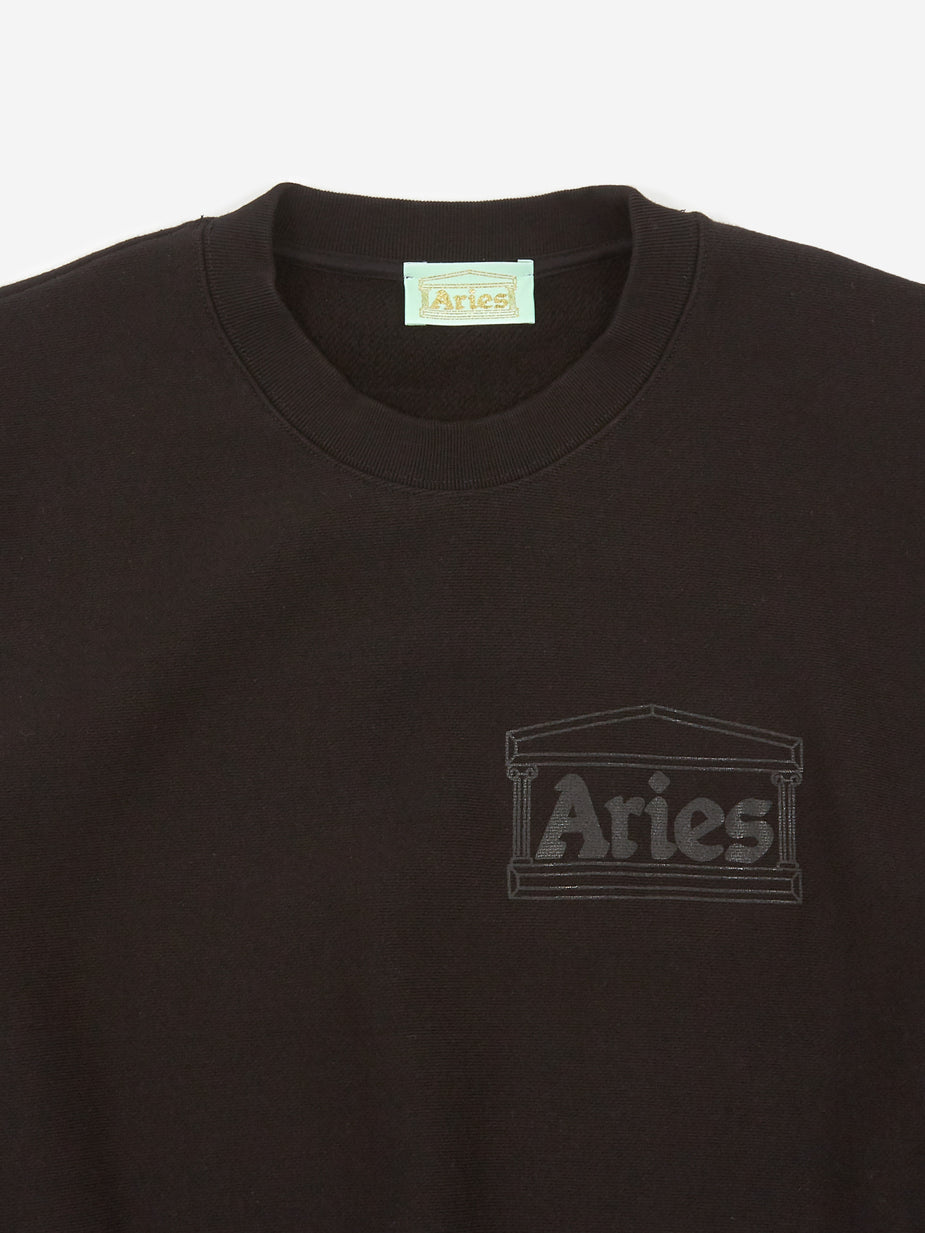 Aries Aries Premium Temple Sweatshirt - Black - Black