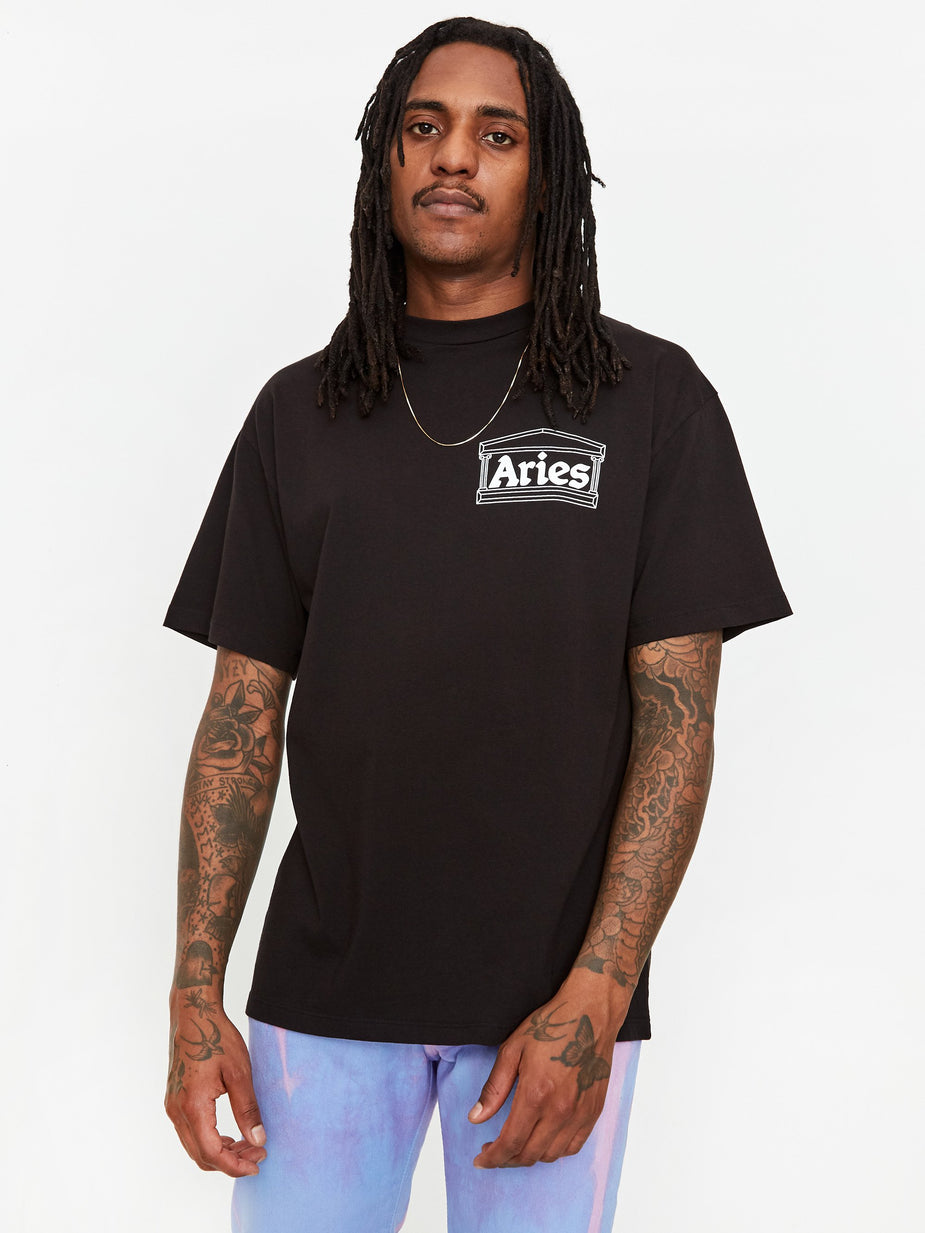 Aries Aries Skate Shortsleeve T-Shirt - Black - Black