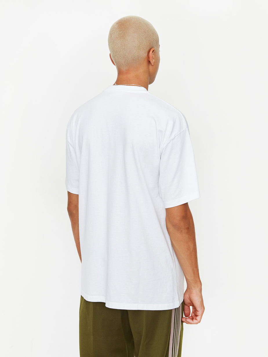 Aries Aries Temple Shortsleeve - White - White