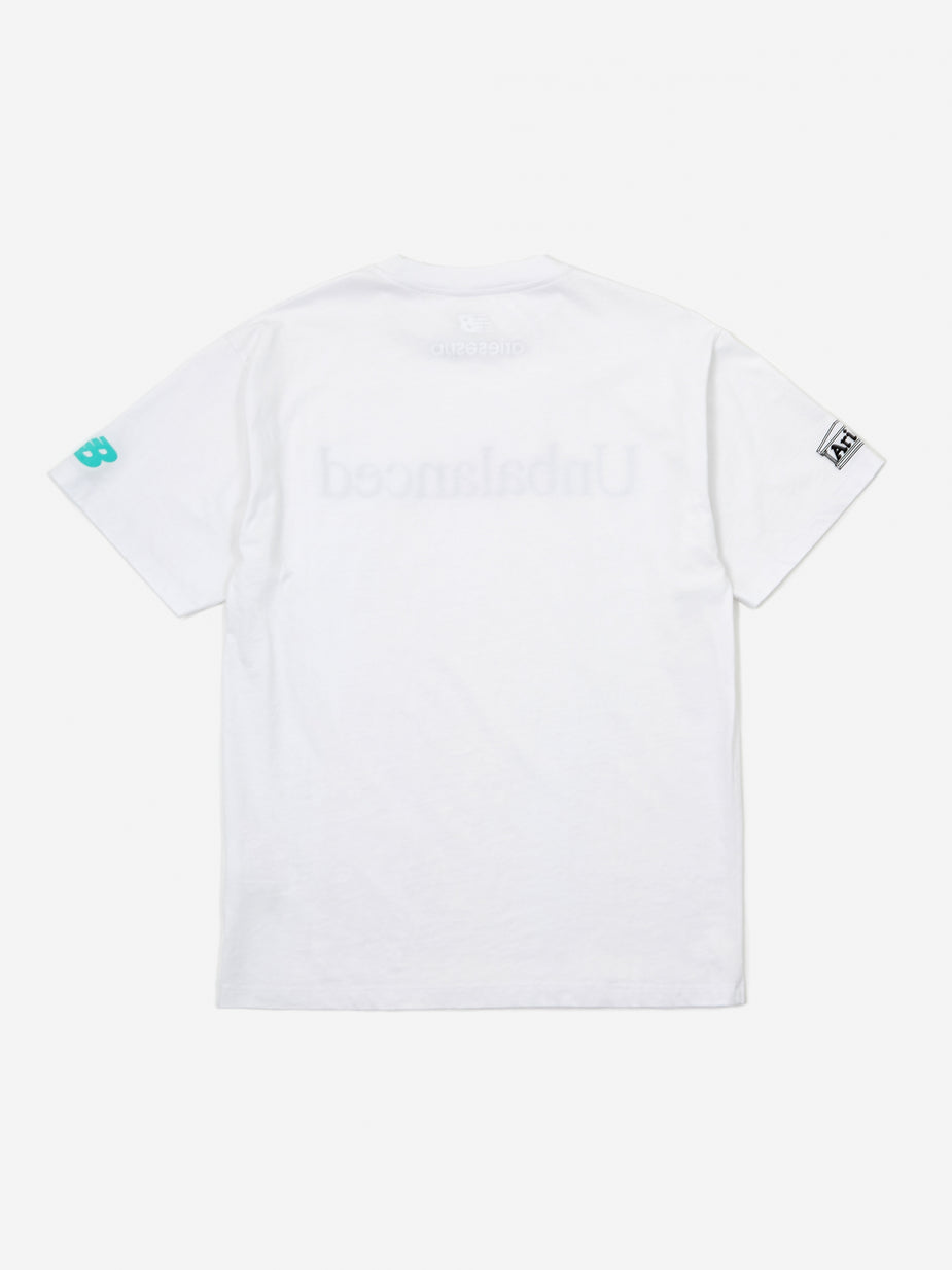 Aries Aries x New Balance Unbalanced Shortsleeve T-Shirt - White - White