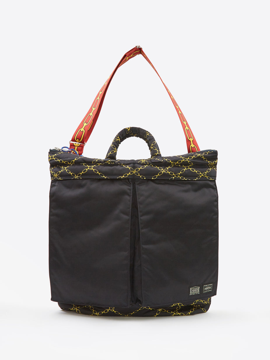 Aries Aries x Porter Yoshida & Co Helmet Bag - Black - Black
