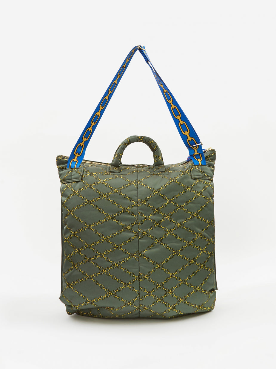 Aries Aries x Porter Yoshida & Co Helmet Bag - Green - Green