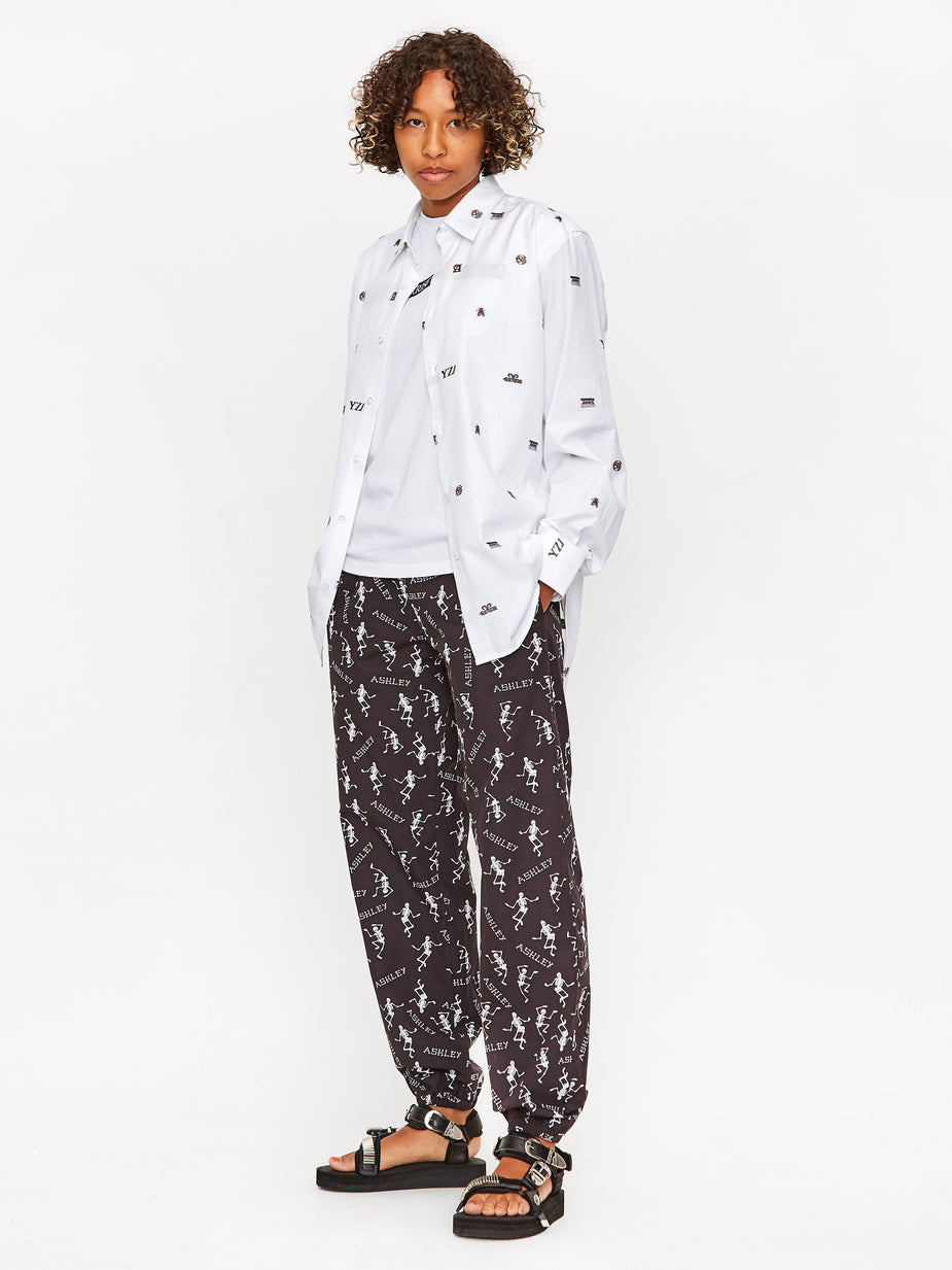 Ashley Williams Ashley Williams Tropic Trousers - Skeletons - Multi