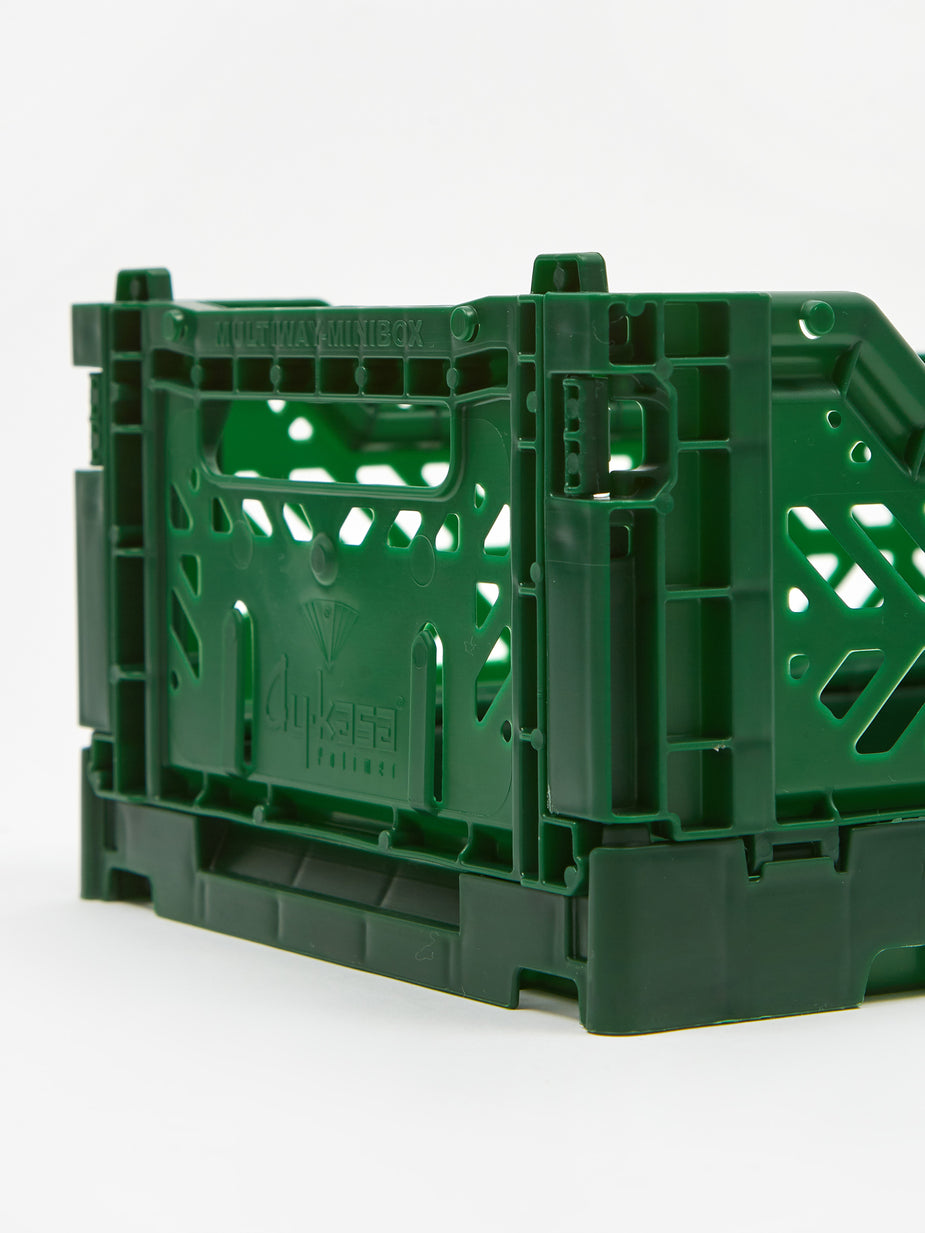 Aykasa Aykasa Mini Crate - Dark Green - Green