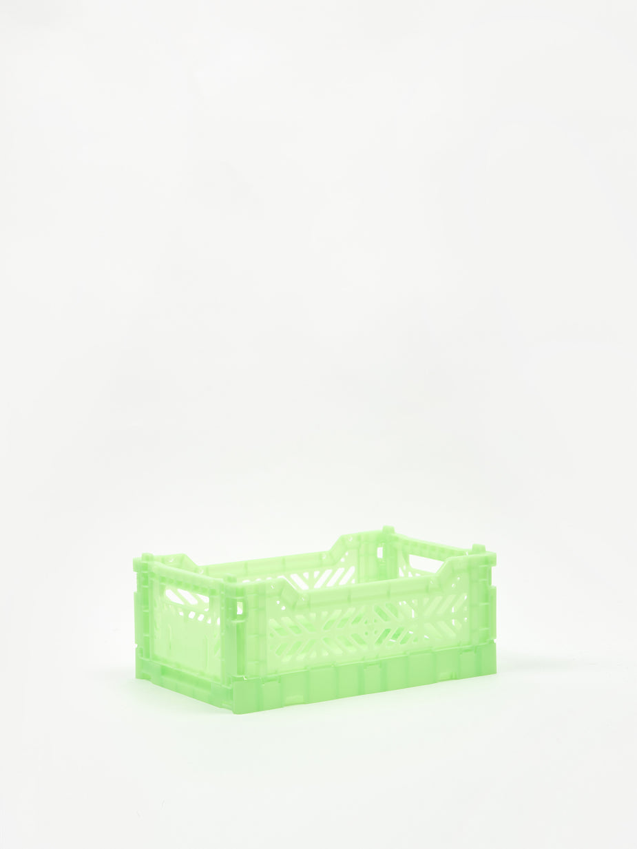 Aykasa Aykasa Mini Crate - Fluorescent Green - Green