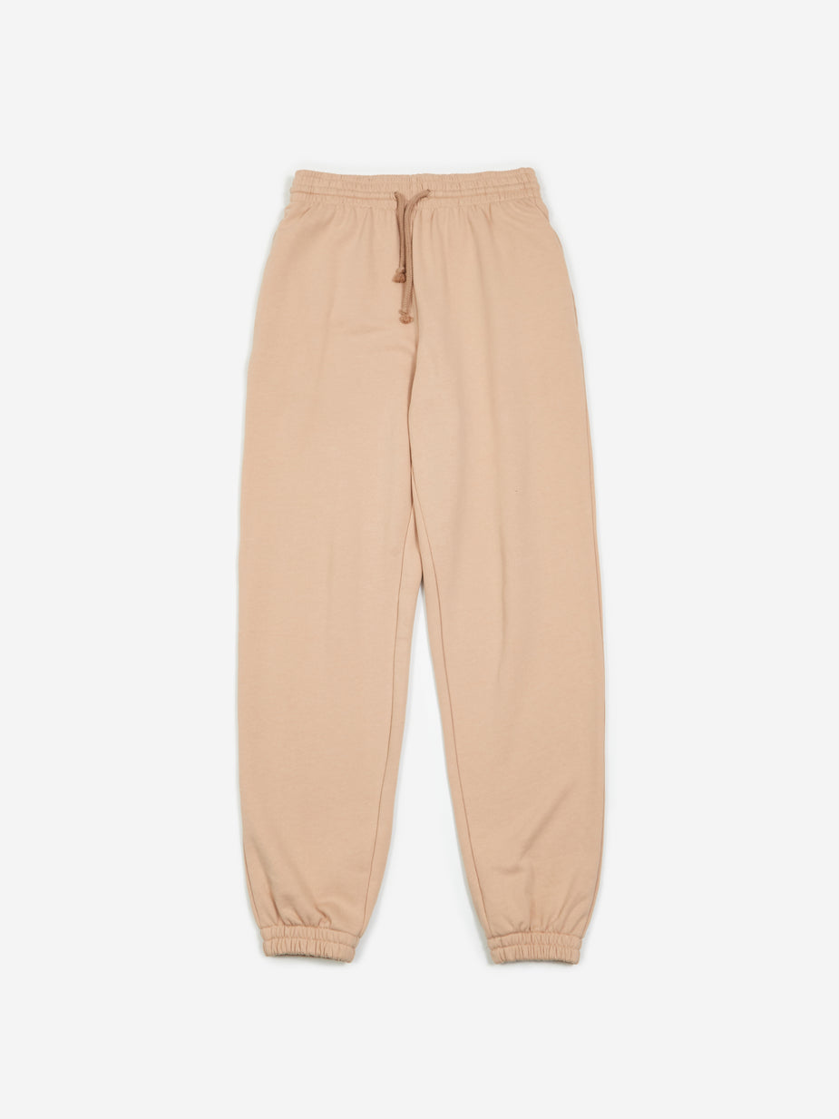 Baserange Baserange Basic Sweat Pants - Nude