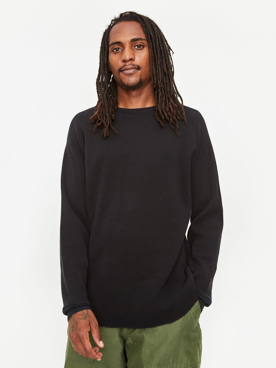 Beams Plus Beams Plus Thermal Crew - Black - Black